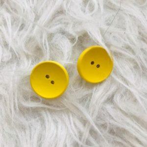 sárga gomb