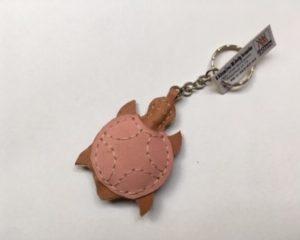 S.rózsaszín teknősbéka kulctartó