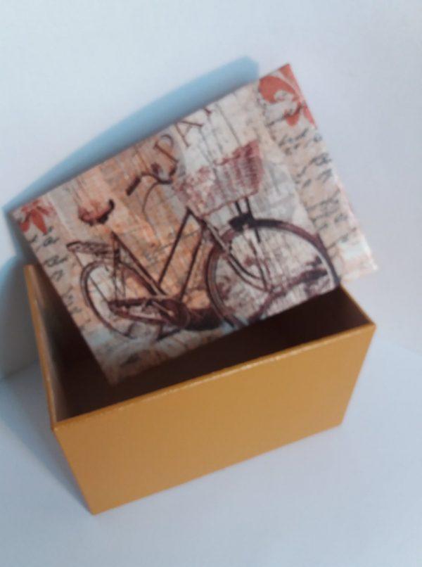 Biciklis dobozka